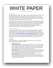 White Paper: How To Choose An IMU For Your Application