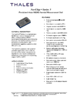 NavChip Series 3 Full Technical Datasheet