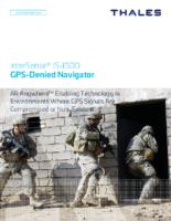 Thales InterSense IS-1500 GPS V2 Data Sheet 2020-09
